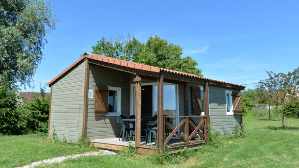 location chalet confort chambord
